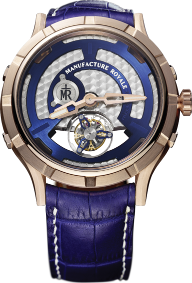 Micromegas micro rotor blue rose gold - 1770MMJM45.08P.H